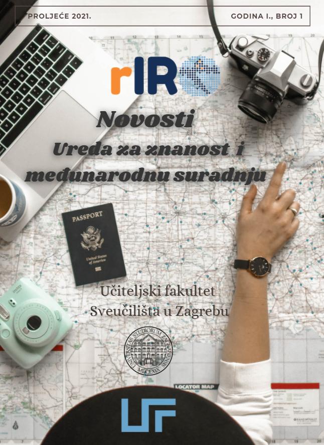 Prvi broj službenog biltena Ureda za znanost i međunarodnu suradnju Učiteljskog fakulteta Sveučilišta u Zagrebu