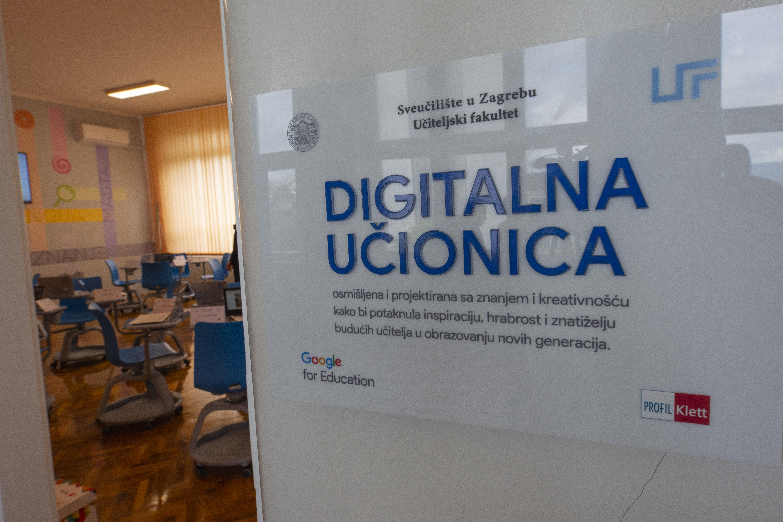 Novootvorena Učionica budućnosti na Učiteljskom fakultetu u Zagrebu